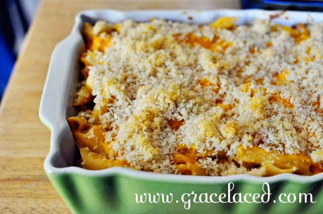 Baked Green Chile Mac and Cheese