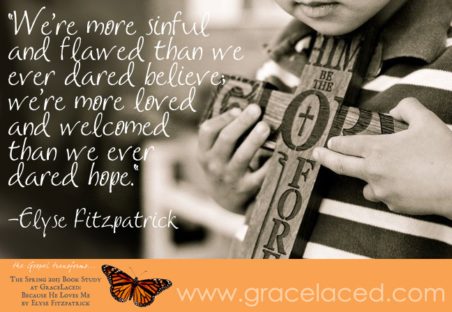 You are more loved than you ever dared hope.   gracelaced.com