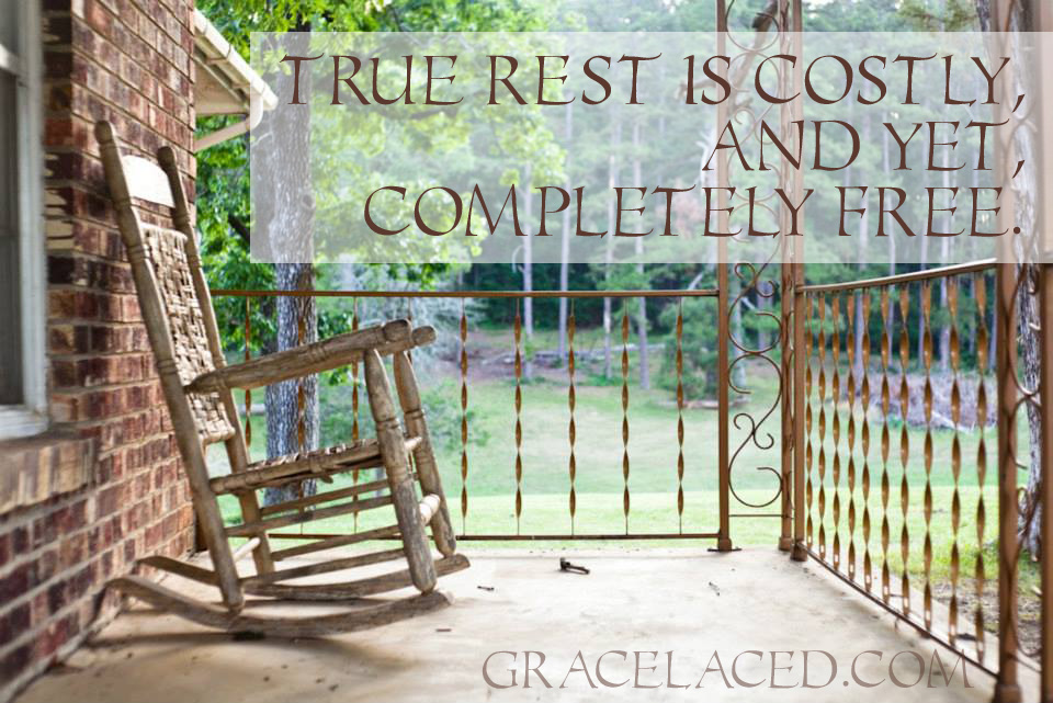 Costly and Completely Free | gracelaced.com